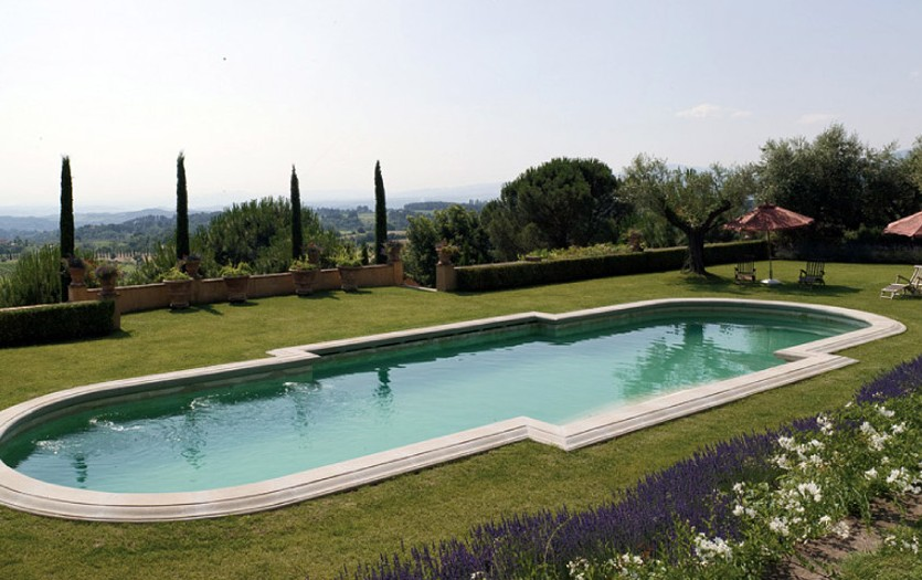 Singer Sting And Trudie Styler Villa In Tuscany Ee24