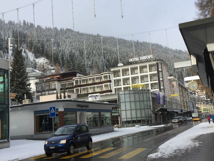 Apartment in city Davos