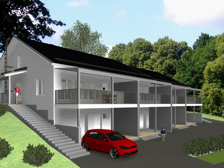 Townhouse in city Jyvaskyla