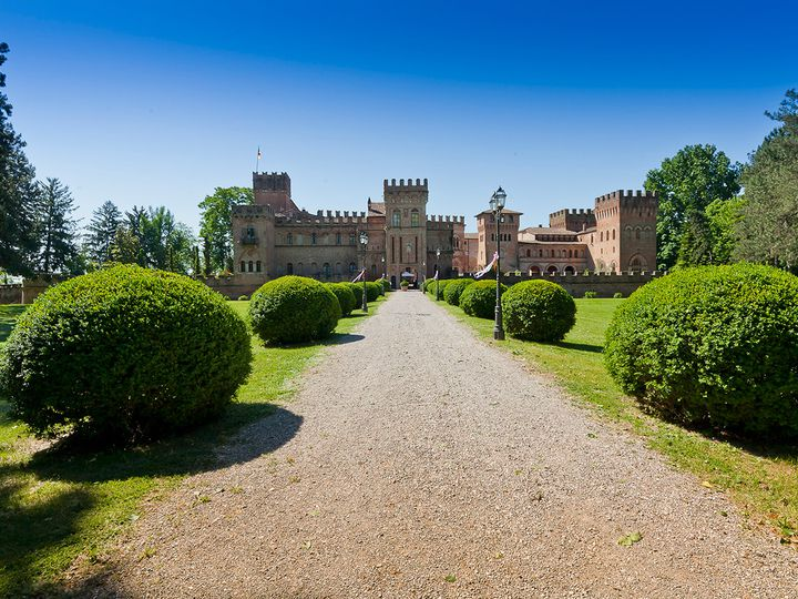 Castle in city Cremona