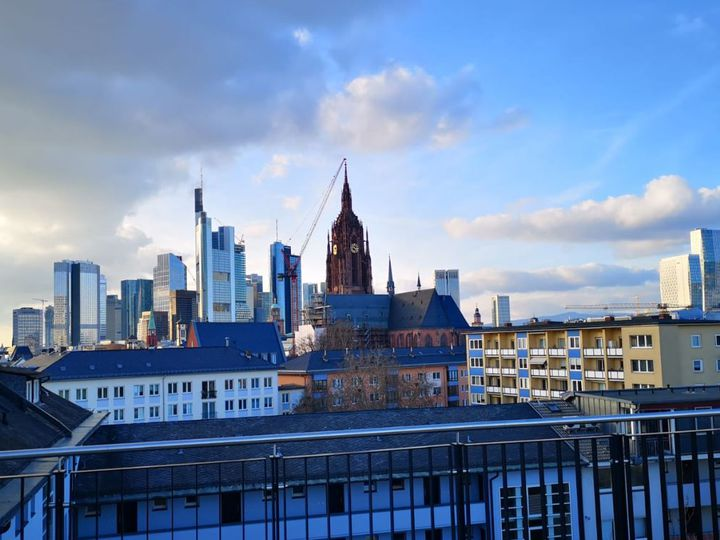 Apartment house in city Frankfurt am Main