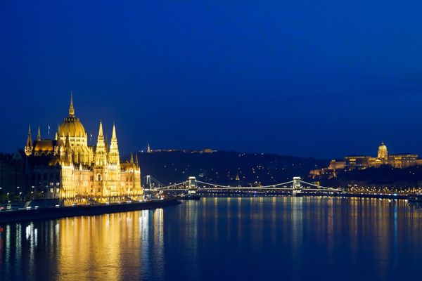 Buda — the most respectable part of the Hungarian capital