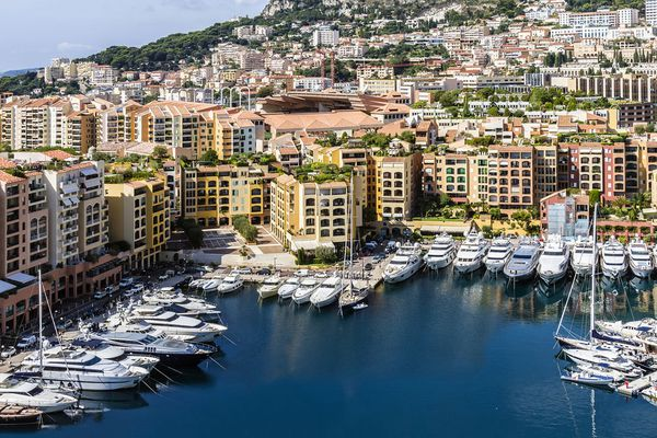 Monaco is on the 2nd place in the ranking of the most expensive luxury real estate