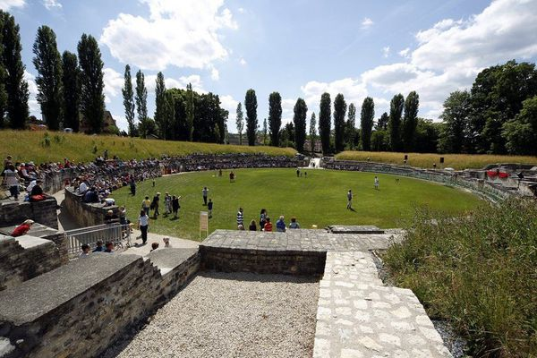 A Roman amphitheater is for sale in Switzerland