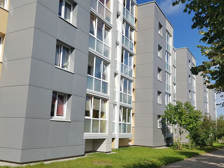Apartment in city Naujoji Akmene