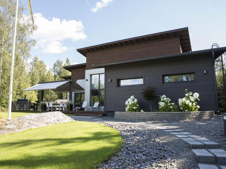 Detached house in city Mikkeli
