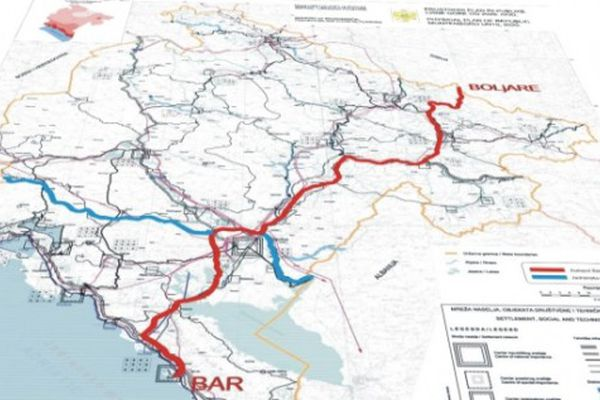 China will loan Montenegro €689m for the first high-speed line