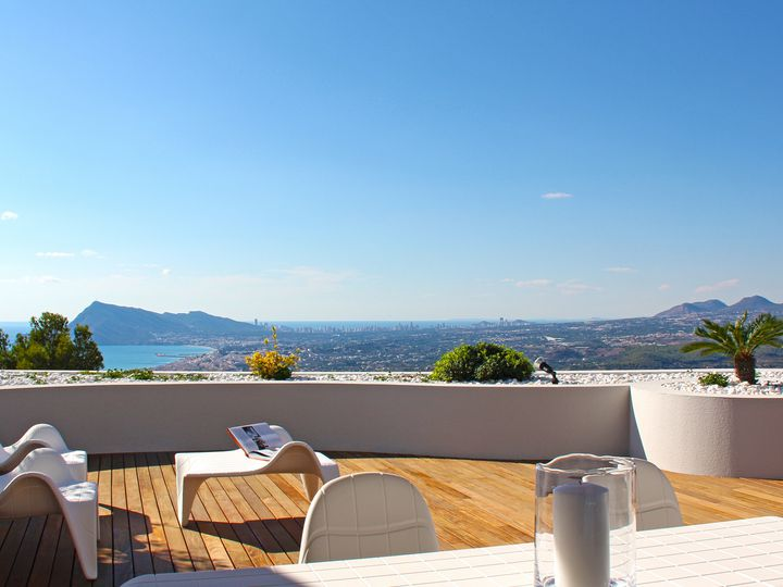 Apartment in city Altea