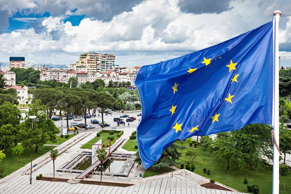 Albania has become a candidate to the EU. Britain will veto