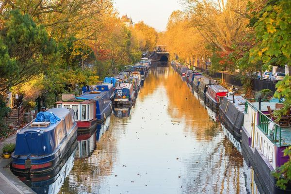 Little Venice in London: to stay afloat