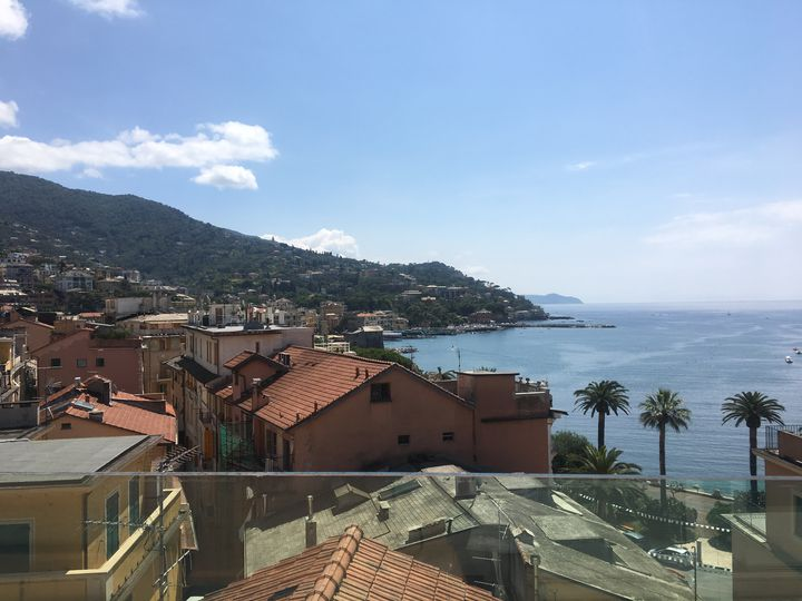 Penthouse in city Rapallo