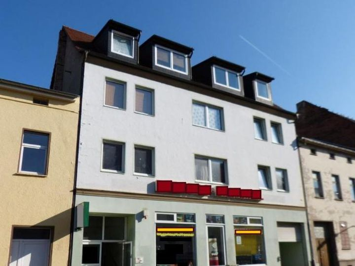 Apartment house in city Schonebeck
