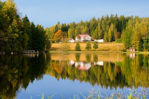 Country life on a lake in Finland: customer experience