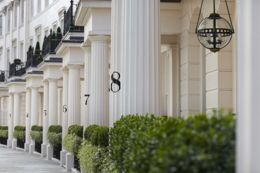 10 London streets with the most elite real estate