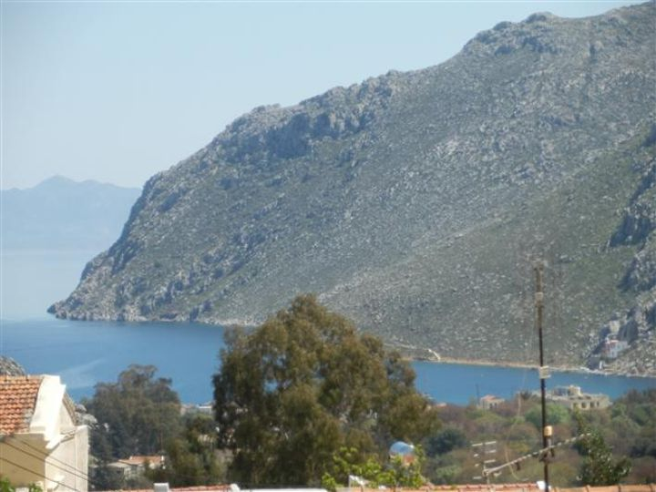 Detached house in city Symi