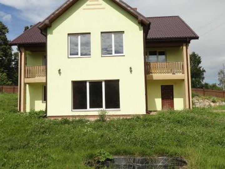 Detached house in city Talsi