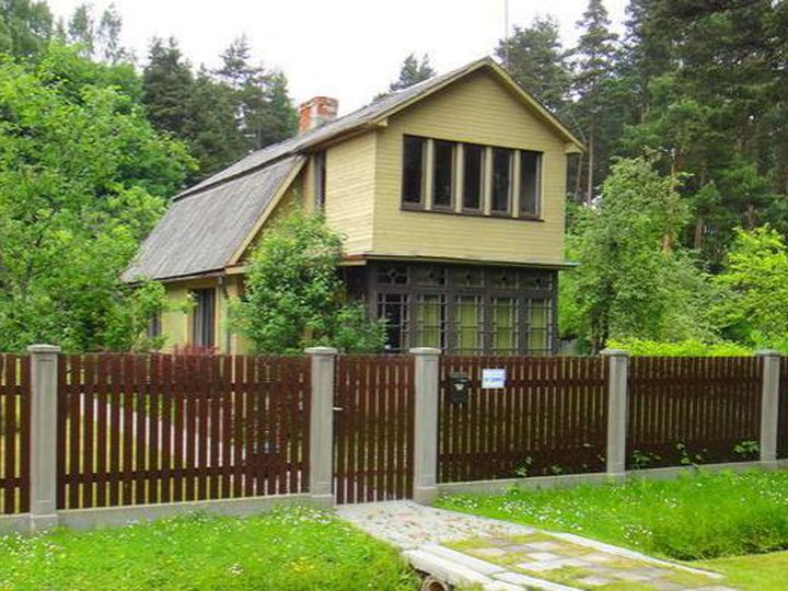 Detached house in city Jūrmala