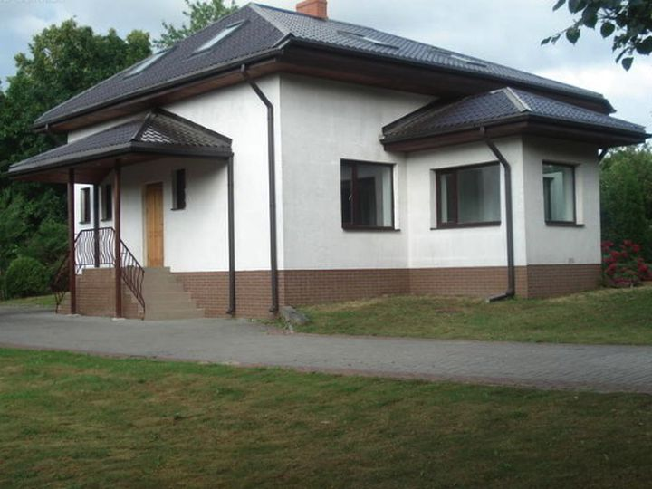 Detached house in city Bauska