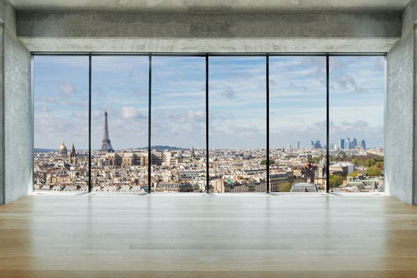 Top 10 apartments in Paris with best city's views