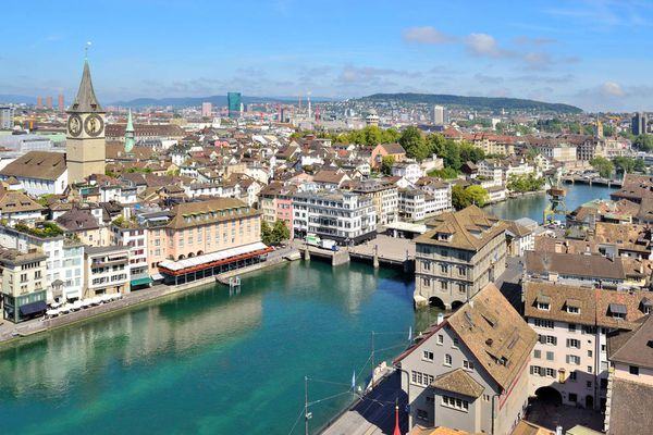 Cost of living in Switzerland is the highest in Europe
