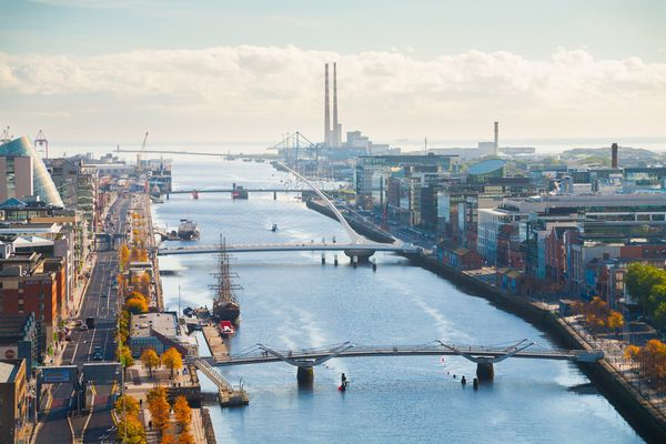 Property in Dublin is going up rapidly, the rest of the country lags behind