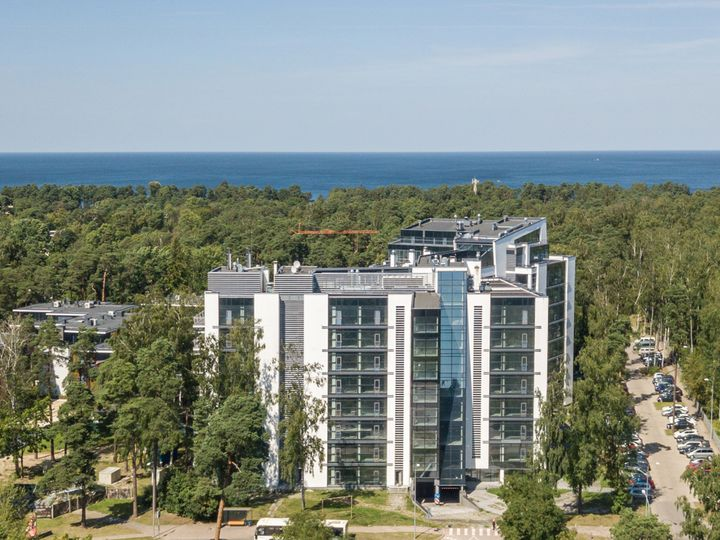 Apartment in district Dzintari in city Jūrmala