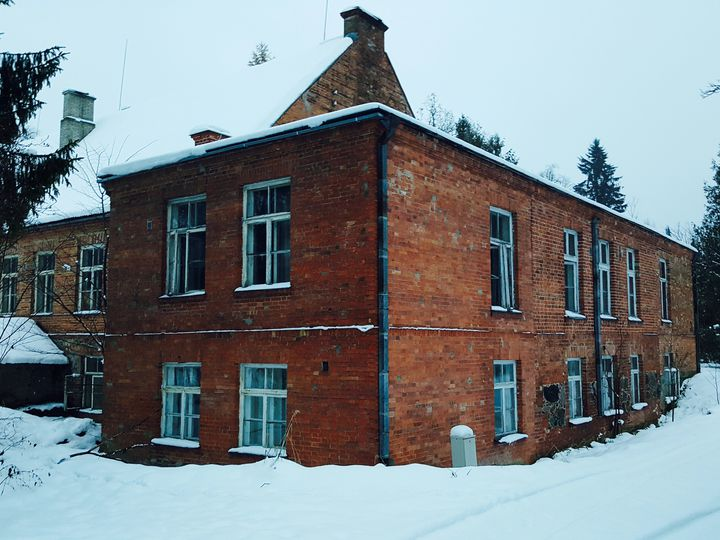 Castle in city Otepää
