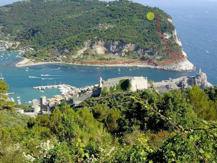 Detached house in city Portovenere