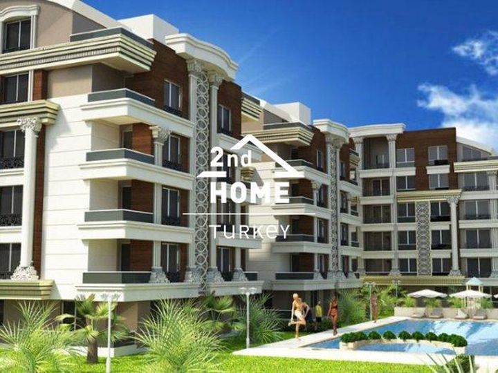 Apartment in district Hurma in city Antalya