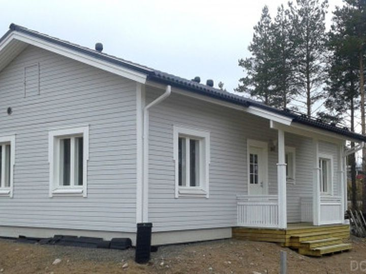 Detached house in city Hamina