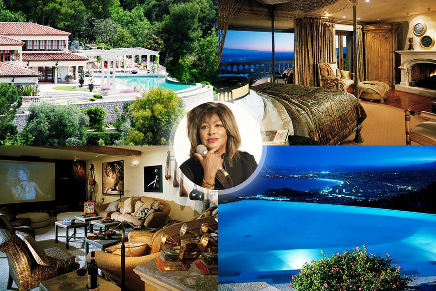 Tina Turner's luxurious residence on the French Riviera
