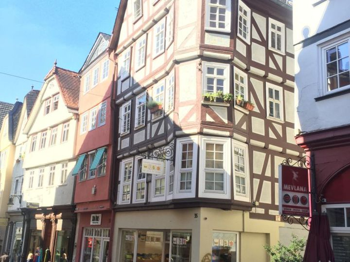 Apartment house in city Marburg