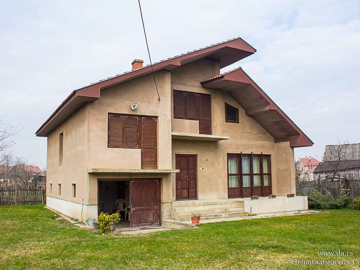 Detached house in city Sabac