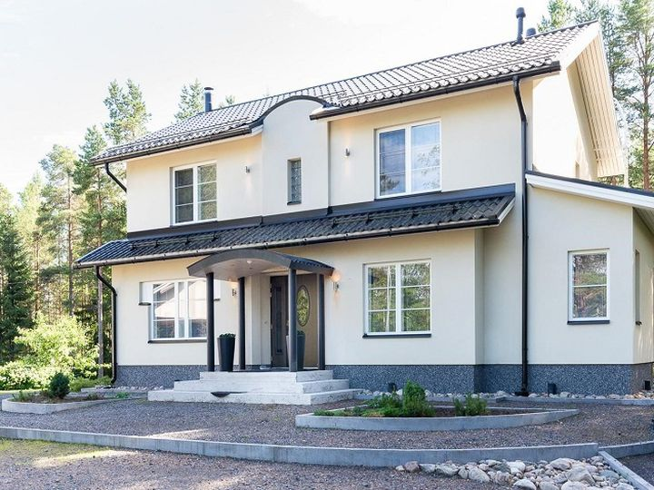 Detached house in city Oulu