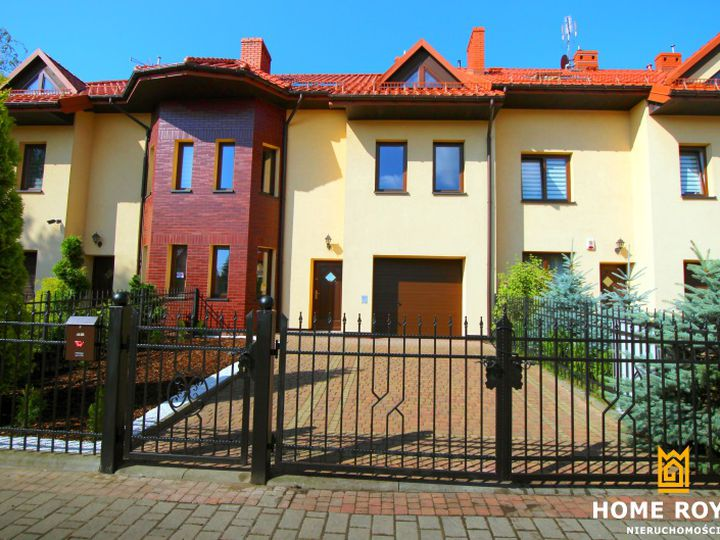 Semi-detached house in city Katowice