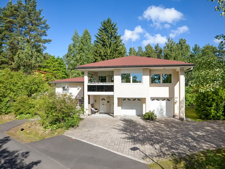Detached house in city Kouvola