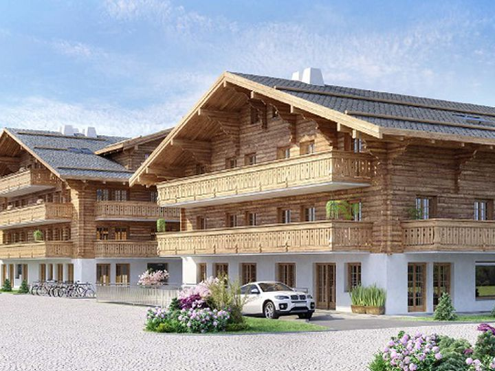 Apartment in city Gstaad