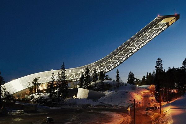 Miracle of transformation: from ski jump into luxury penthouse