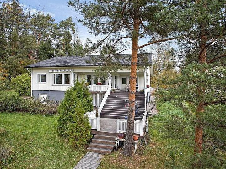 Detached house in city Porvoo