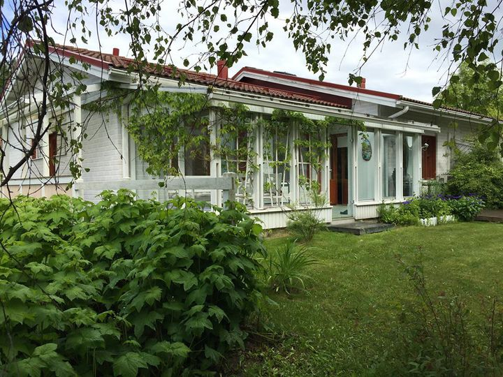Semi-detached house in city Varkaus