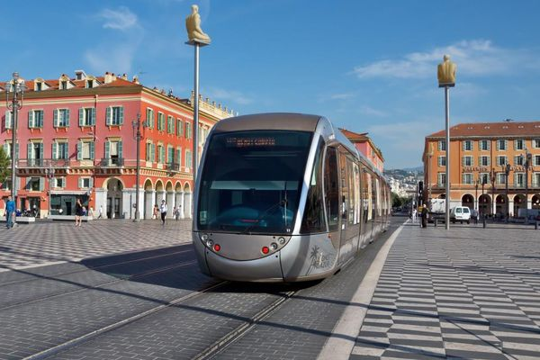Tram in Nice – the construction of second line has been started