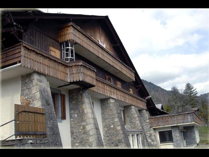 Apartment house in city Morzine