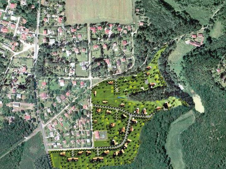 Land in city Kladno