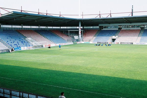 The country's largest football stadium is offered for sale in Riga