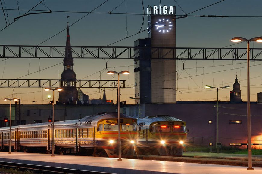 Latvia. Buyers are jumping into the departing train