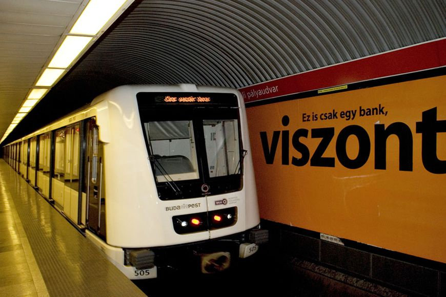 metroen i budapest