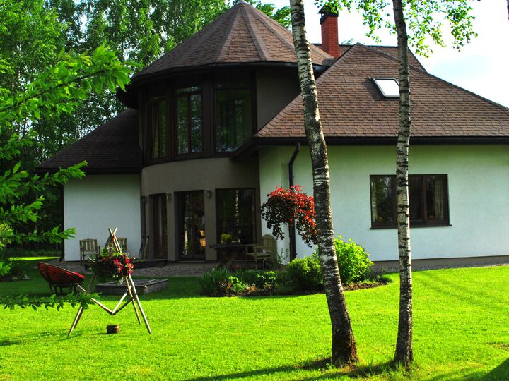 House in city Sigulda