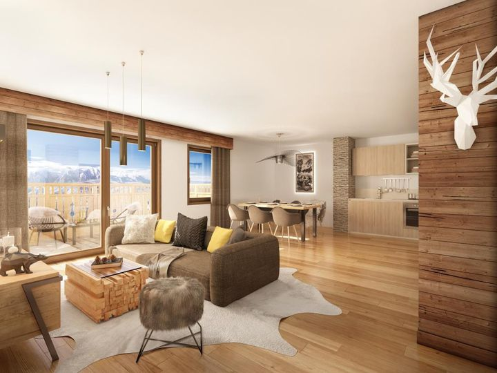 Apartment in city Les Deux-Alpes
