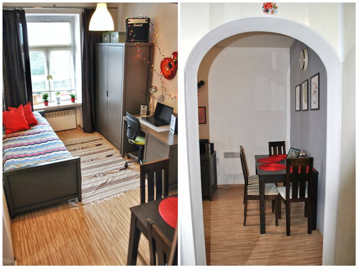 Apartment in city Lodz