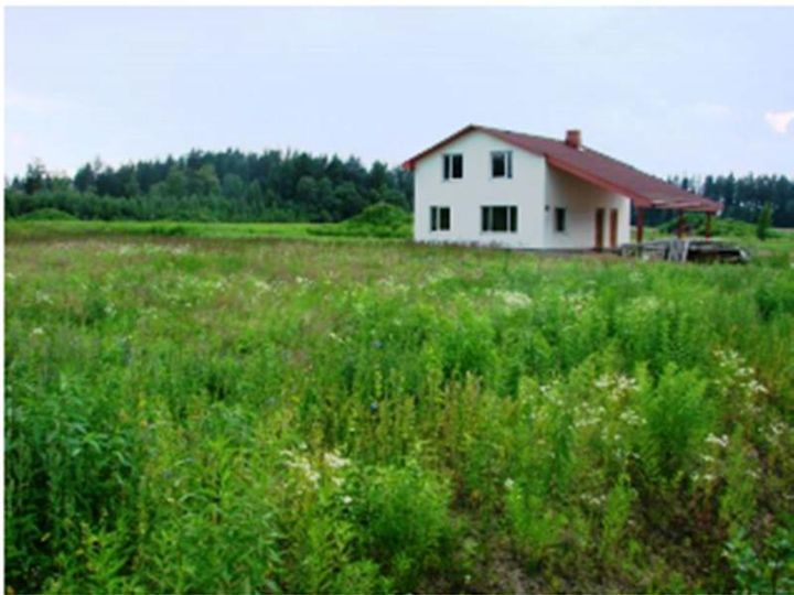 Detached house in city Valmiera